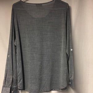 Dress Barn Tops - Women's dress barn long sleeve shirt
